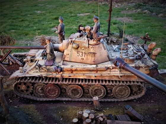 Panther Ausf. F -  Komplettumbau 1:16
