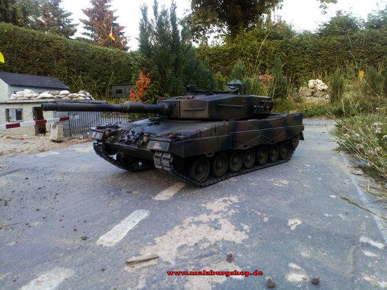 ~MAE~RC Panzer Leopard 2A4 ~Metalledition~ mit Elmod