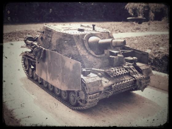 "Sd. Kfz. 166 - Sturmpanzer IV ""Brummbär"""