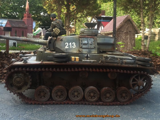 Panzer III made by malzburg