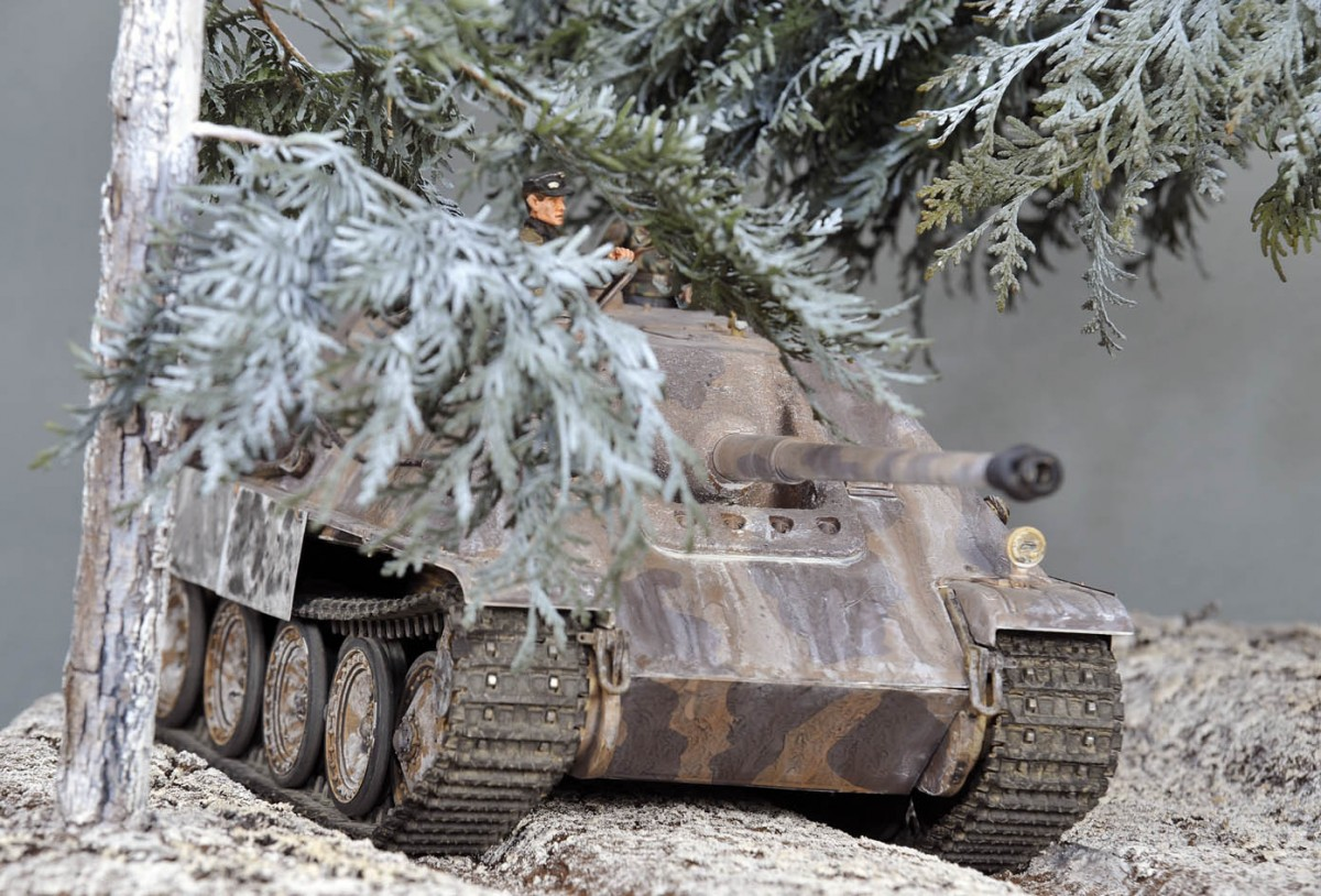 Mein Jagdpanther der 654