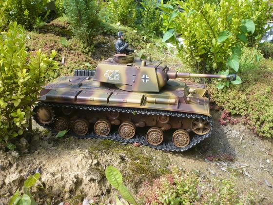Beutepanzer KW 1 mit 7,5cm Kwk L/43