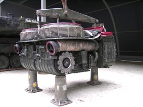 Leopard 2A6 Motorausbau
