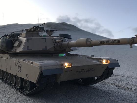 """M1A1 Abrams """"Creeping Death"""""""