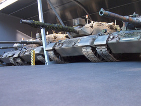 Leopard 1 in verschiedenen Varianten