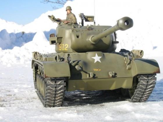 M26 im Schnee