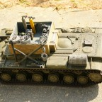 KW1-Bergepanzer ohne Arbeit