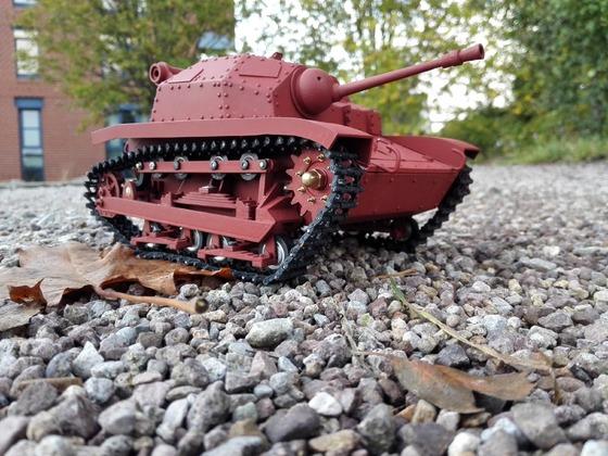 Tankette TKs nmz 20mm