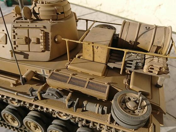 Befehlspanzer III der 15. Panzerdivision des DAK