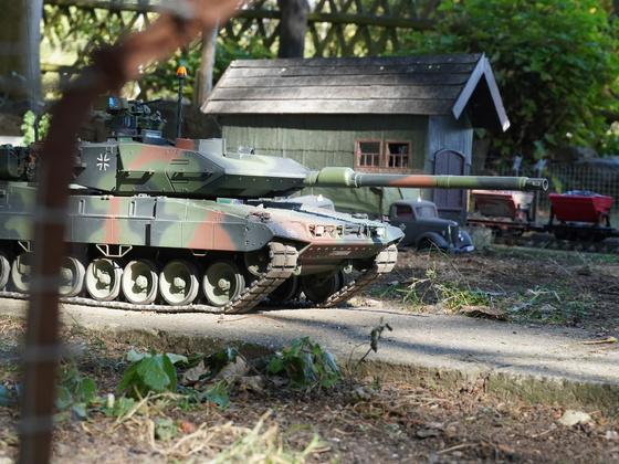 Leopard 2 A7V Patrouille