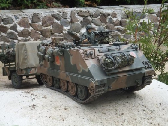 M113 der 80ziger im Ederbergland