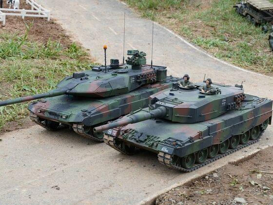 Leopard 2 Treffen der Generationen in Wächtersbach