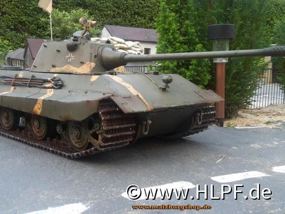 """RC Panzer """"E-50"""" - Malzburg Edition"""