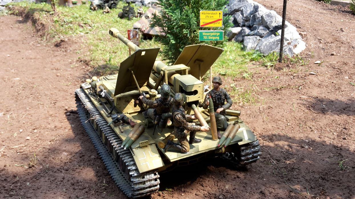 Waffenträger auf Panzer IV .