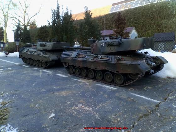 Leopard 1A4 vor unserer Kaserne