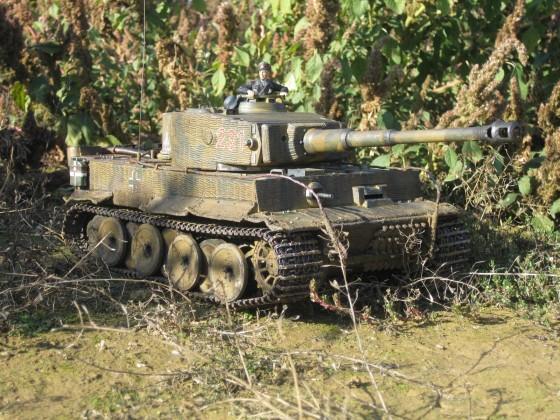 Tiger 1 nach dem Umbau
