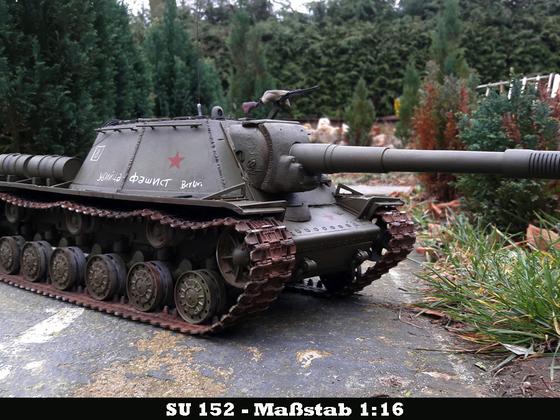 SU152 auf KV-1 Basis