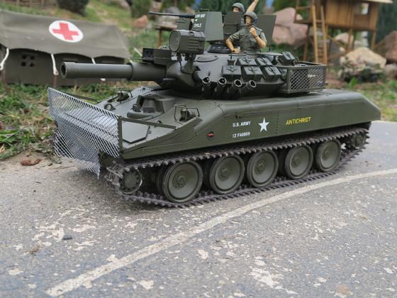 M551 auf der Pirsch....