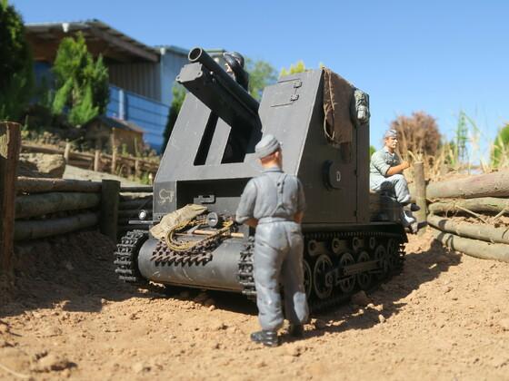 Sturmpanzer 1 Bison macht Pause