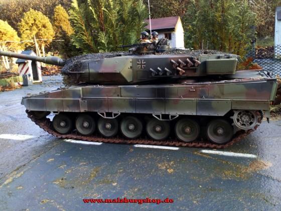 Leopard 2A6 - by malzburg modellbau