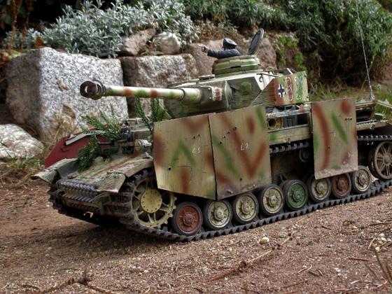 Tamiya Panzer IV Einsatz in HOT