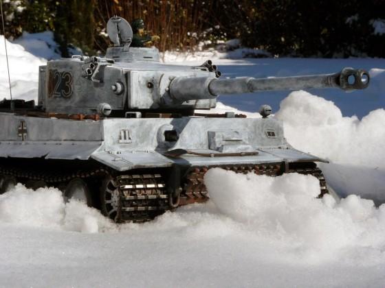 Tiger 823 der 2. XX Panzerdivision Das Reich im Winterfell