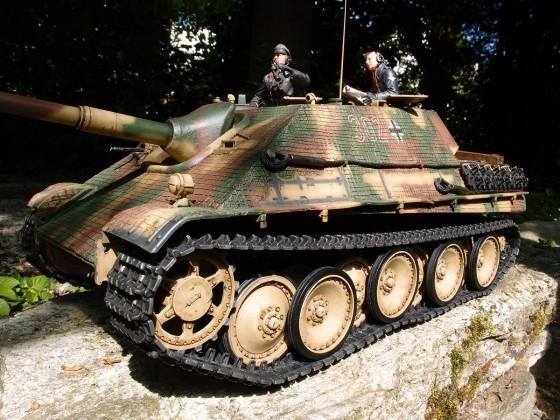 Früher Jagdpanther - 3./s.Pz.Jäg.Abt.654
