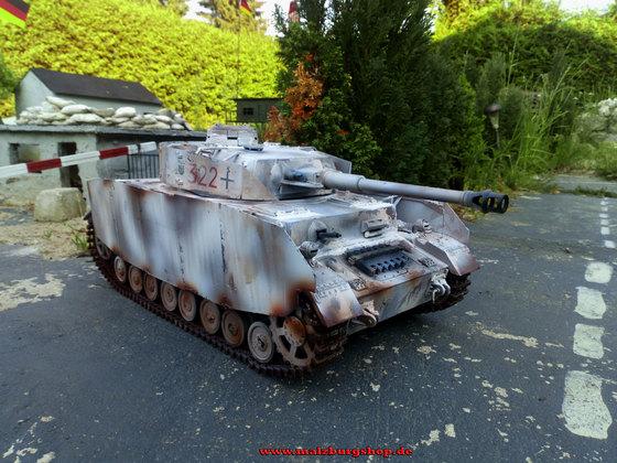 RC Panzer Jagdpanzer IV - mit Metallketten 1/16 - Kundenwunsch -