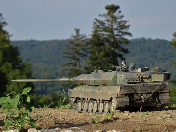 Leopard 2A6 von HL Torro 7/2018