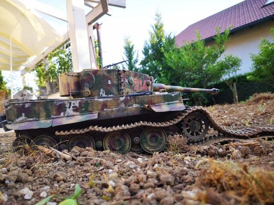 Tiger 214 bleibt mit zerstörter Kette liegen #4