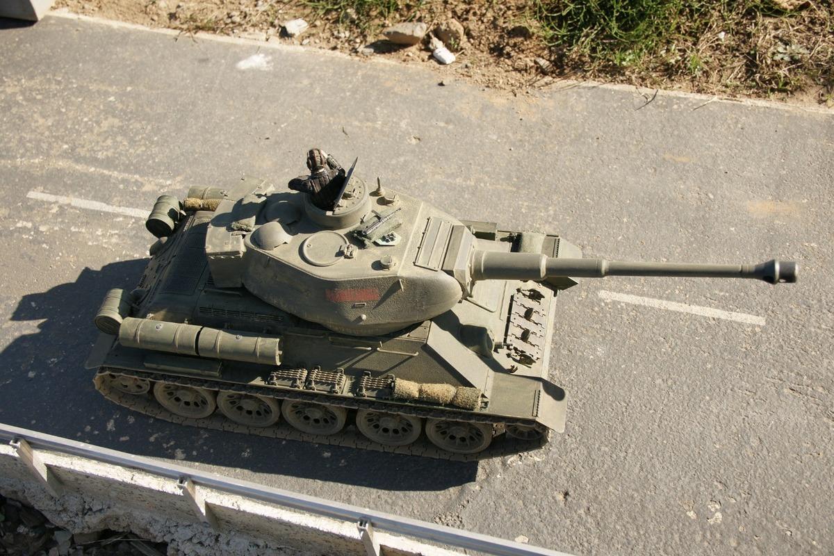 Ein von den Russen zurückeroberter Kurland-Tiger