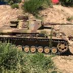 Panzer 4 im Gelönde