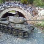 Mein T 34/85m der NVA um 1960