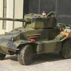 AEC MK3 British Armoured Car in Wächtersbach
