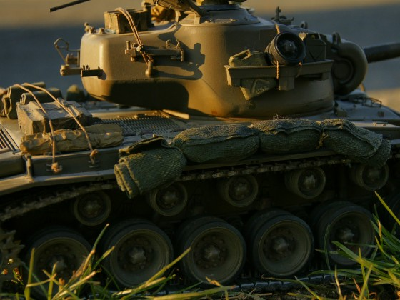 M26 Pershing im Gelände