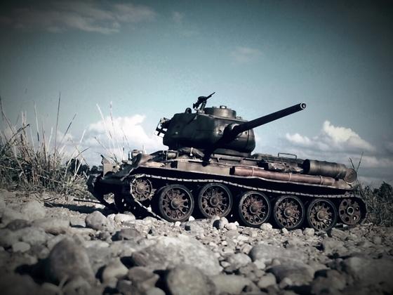 T-34-85 Beobachtungshalt