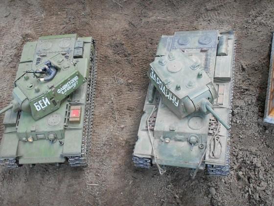 KV 1 E  HL und KV 1 Tamiya