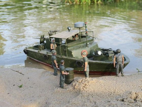 Pibber beim Küstenschutz in Vietnam