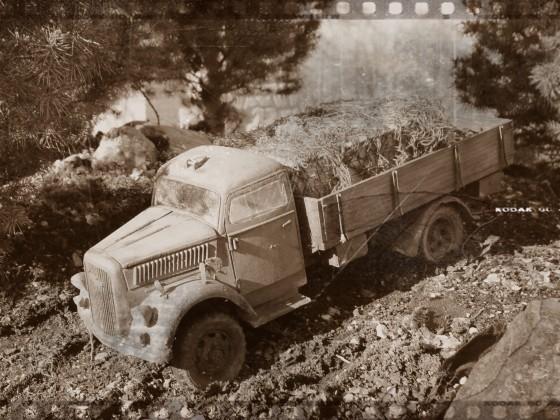 Opel Blitz...Rostlaube