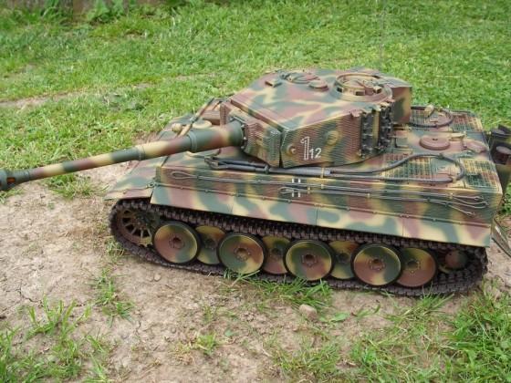 Tamiya Tiger 1 umbau auf die mittlere Produktion