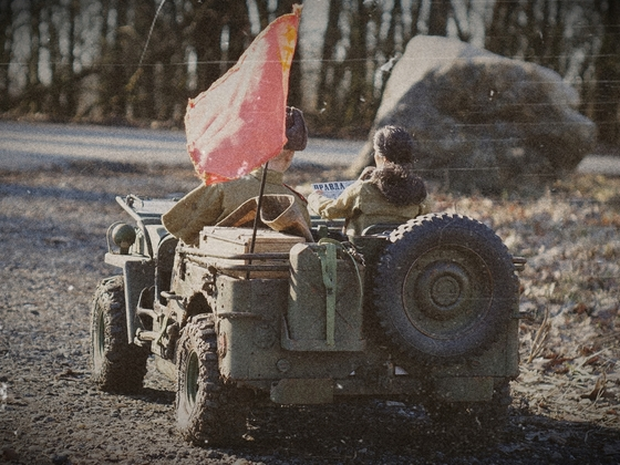 Willys Jeep als russische Version