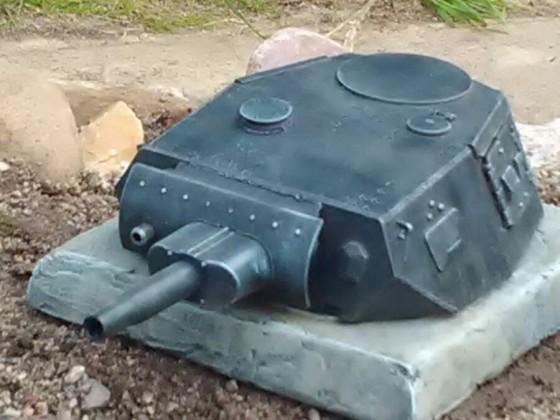 PanzerIV Stellung.