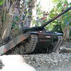 Hindernissüberwindung mit Leopard 2 A7V