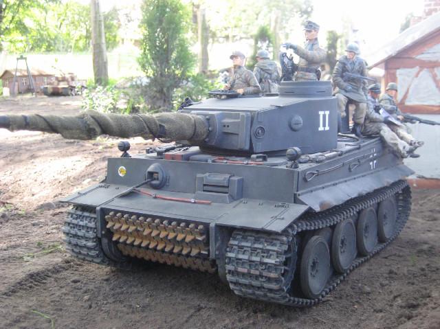 Tiger der schweren Panzer Abteilung 503 Feldherrenhalle