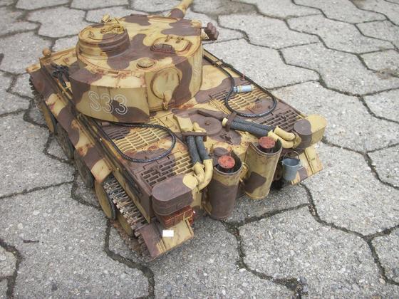 """Tiger S33 2. SS-Pz.Div. """"Das Reich"""""""
