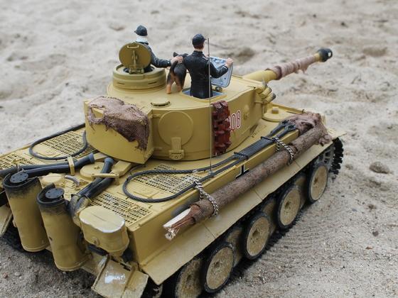 Tiger 1 (benannt nach meiner verstorbenen Oma)