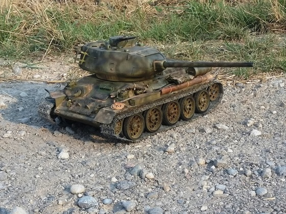 T-34 auf beobachtung