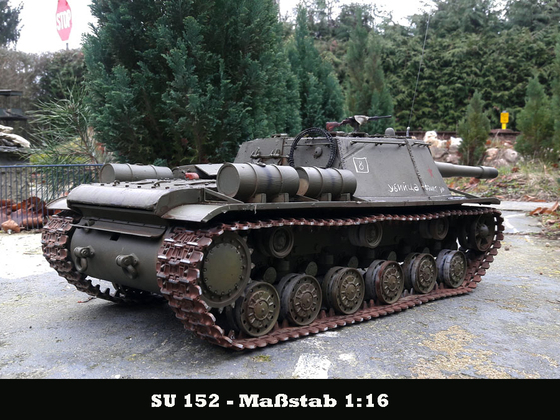 SU152 auf KV-1
