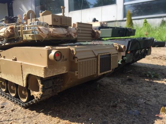 Der Leopard 2A6 und sein kleiner Bruder der M1A1 Abrams