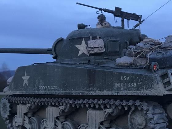 "M4A3 Sherman ""Cocky Bunch"""